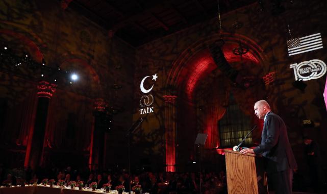 Erdoğan, TAİK 11. Türkiye Konferansı'nda Konuştu