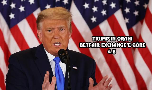 ABD Bahislerinde 2024 Seçimlerinin Favorisi Trump