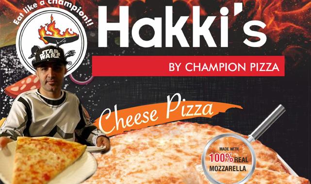 Champion Pizza Artık Market Reyonlarında...