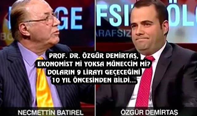 Dolar Yükseldikçe Popüler Olan Profesör