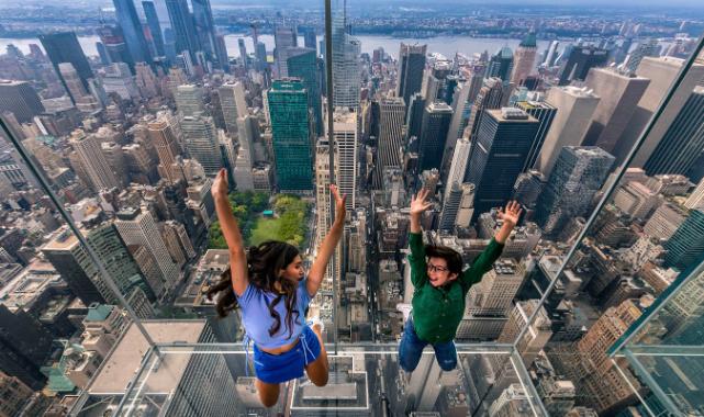 New York'ta Cam Gözlemevi 21 Ekim'de Açılıyor