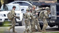 Three hostages and suspect dead after daylong standoff at veterans home: Police<br>