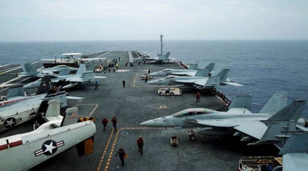 ABD Japonya ve Hindistan'dan ortak tatbikat
