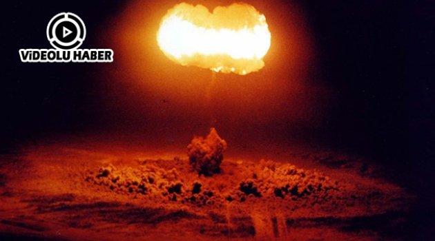 ABD, nükleer silah deneme görüntülerini halka açık hale getirdi
