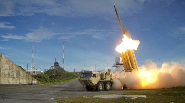ABD Pasifik'te Füze Savunma Sistemini Denedi