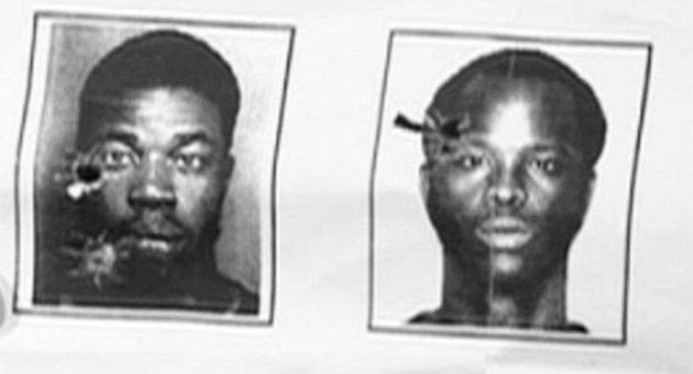 ABD polisinden siyahilere talim atışı