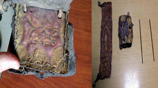 Adanada ceylan derisine altın yazmalı Tevrat ve el yazması ferman ele geçirildi 4