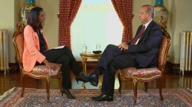 Erdoğan BBC'ye konuştu