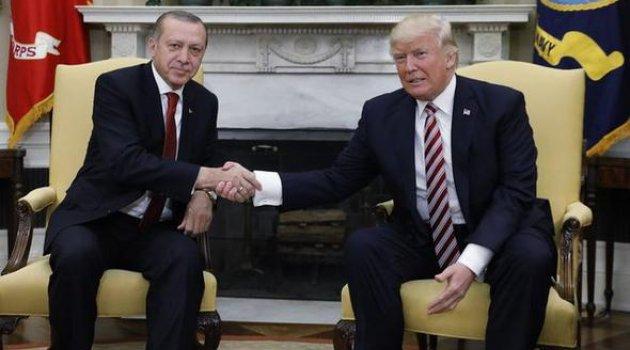 Erdoğan Trump İle Görüştü