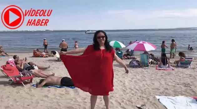 Fenomen Esra Brooklyn Plajında