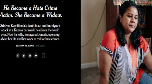 He Became a Hate Crime Victim. She Became a Widow