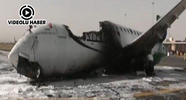 İran Uçağı İnmesin Diye Havaalanını Bombaladılar