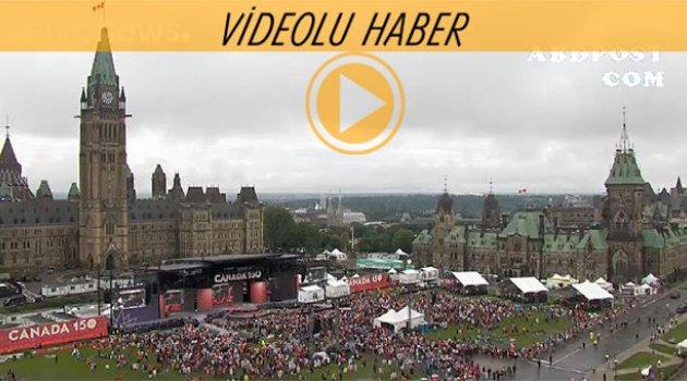 Kanada 150. yılını kutluyor