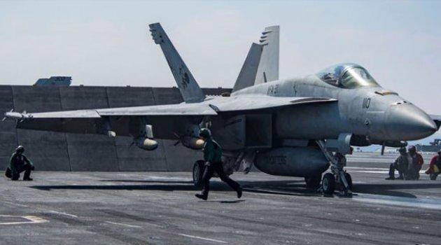 Koalisyon Güçleri Rakka'da Uçak Düşürdü