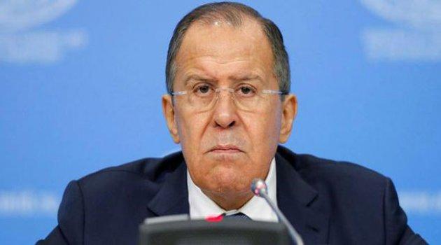 Lavrov'dan ABD'ye sert çıkış