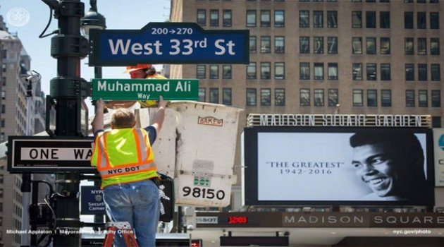 Muhammed Ali'nin İsmi Bu Sokakta Yaşatılıyor