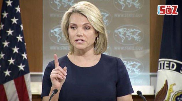 Nauert: ABD'ye Girmeleri Halinde Karar Uygulanır