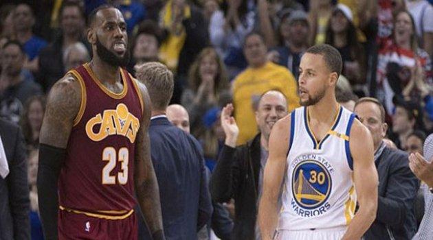 NBA Finallerinde İlk Galibiyet Worriors'ın