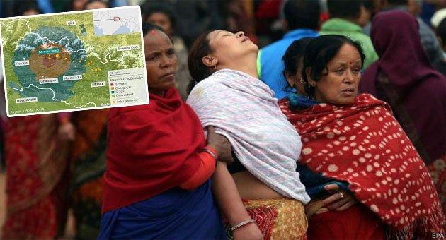 'Nepal'de Enkaz Altındaki Depremzedelerin 3-5 Günü Kaldı'