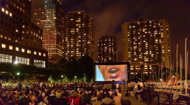New York'un Açık Hava Sinemaları