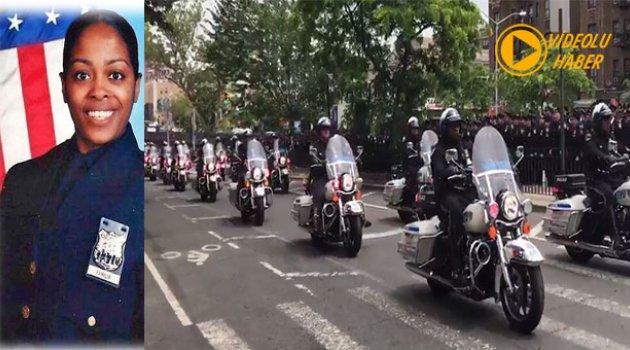 Öldürülen Polis Familia İçin 300 Motosikletli Polis