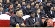 Rodman 'basketbol için' Kuzey Kore'de