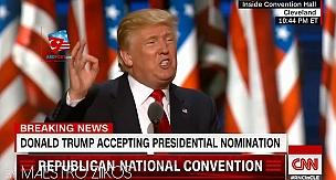 Donald Trump'ı böyle görmediniz