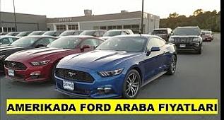 Amerika'da Ford Araba Fiyatları