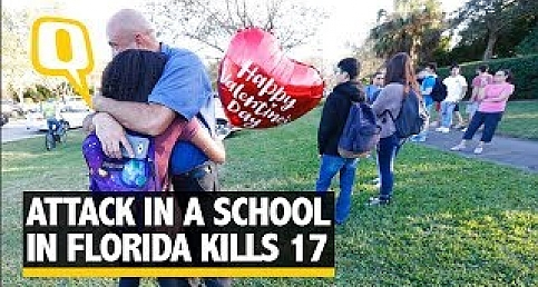 At least 17 Dead After a Ex-Student Fires at His School in Florida | The Quint
