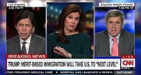 CNN Discussion on Trump's Immigration Reforms - Merit Based Immigration and US Green Cards