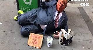 Fake Donald Trump say: Mexican wall fund Wall street www.abdpost.com