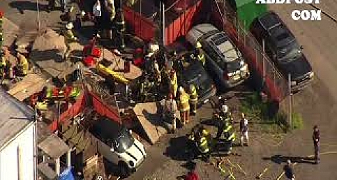 Gas Station explosed in Bensalem www.abdpost.com