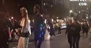New York'ta Cadılar Bayramı Yürüyüşü Başladı www.abdpost.com