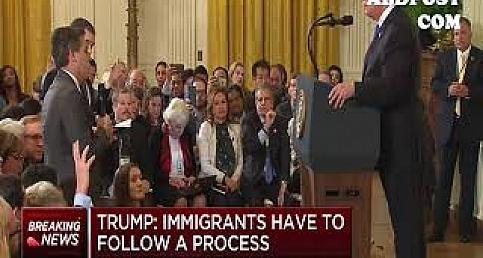 Trump CNN Muhabiri Jim Acosta böyle azarladı www.abdpost.com