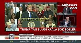 Trump told Saudi Arabia King Two Weeks www.abdpost.com